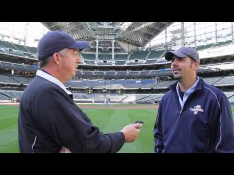 Athletic Turf News: A visit to Milwaukee's Miller Park