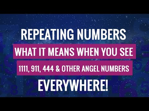 Angel Numbers: The True Meaning Behind Repeating Numbers (11:11, 911, 444 & More)