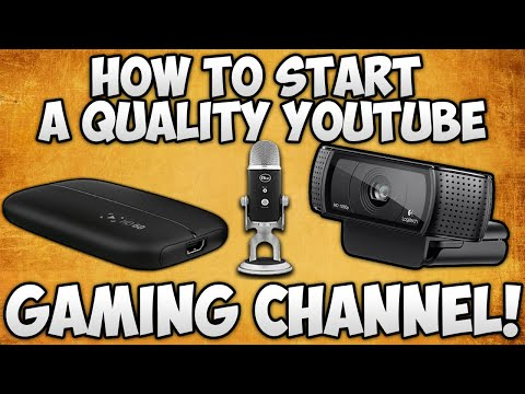 How To Start A YouTube GAMING Channel - UPGRADES! [PART 2]