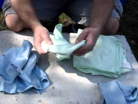Window Cleaning Hamilton Ontario -- Microfiber Cloth