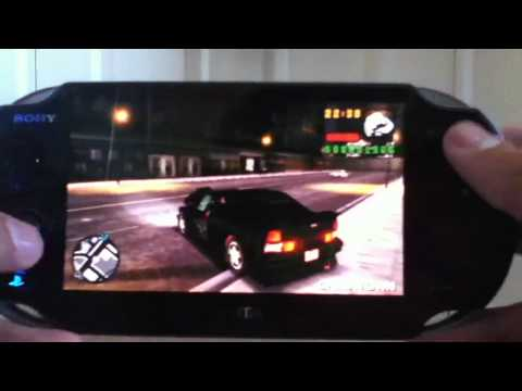 GRAND THEFT AUTO: LCS on Ps Vita