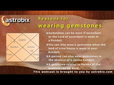 Gemstones - How gemstones can improve your life with Vedic astrology