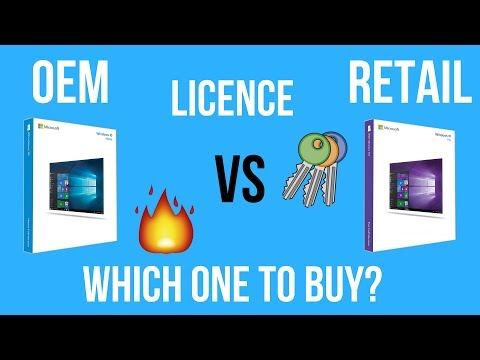 Microsoft Windows OEM vs Retail License Key | Which is Best | Explained [Hindi]