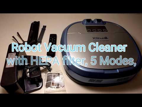 Haier XShuai C3 Smart Camera Robot Vacuum Cleaner Working with Amazon Alexa