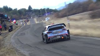 REV LIMITER! Flat out Rally cars Rally Monte Carlo 2018