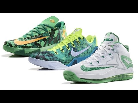 The 2014 Nike Basketball Easter Collection KD VI, KOBE 9 EM and LEBRON 11 Low
