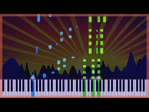 Misty Sunrise - Tobias Holm [Piano Tutorial] (Synthesia)
