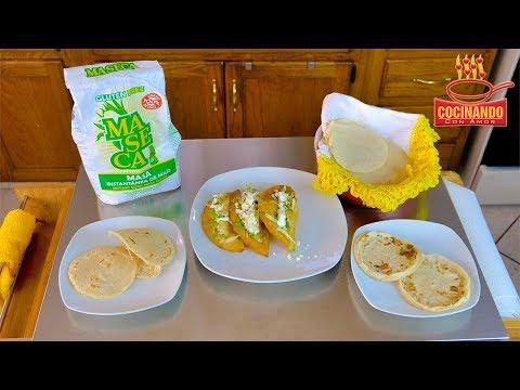 DIFERENTES USOS PARA MASA DE MAIZ! (Tortillas, Sopes, Gorditas, Quesadillas) - Cocinando Con Amor