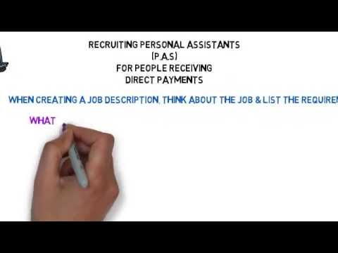 recruiting personal assistants