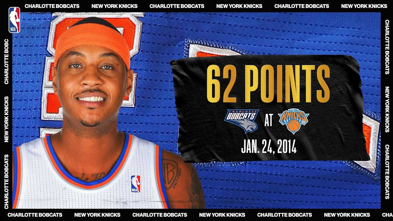 Melo Sets Knicks & MSG Record With 62-PT Game   #NBATogetherLive Classic Game