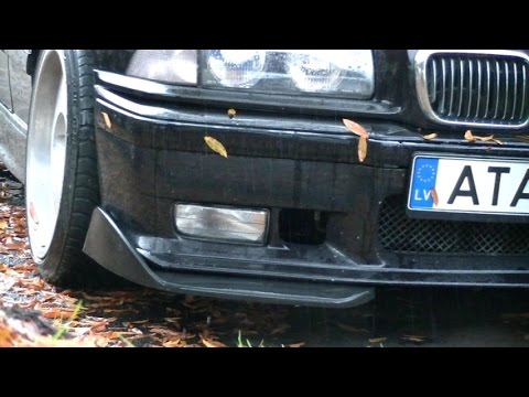 BMW M3 E36 Bumper Splitters, Сплиттеры для бампера БМВ М3 Е36