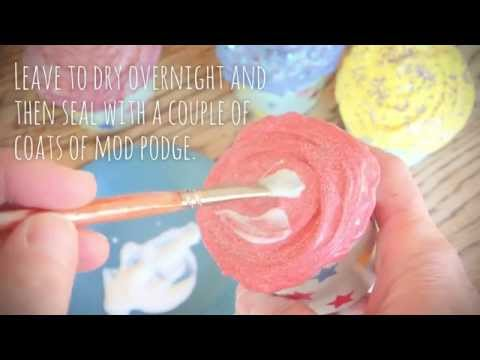 Make your own pretend play cupcakes