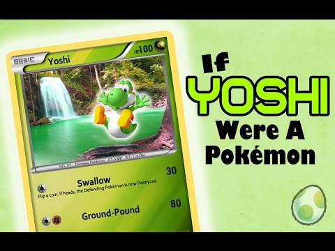 How to Make a YOSHI Pokémon Card (Photoshop)