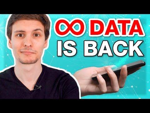 Unlimited Data Plans Return!  + Broken iPhone Screen Warranty Change + Google's iMessage