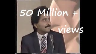 Javed miandad & Moin Akhtar Live ᴴᴰ || Funniest Interview Ever ||