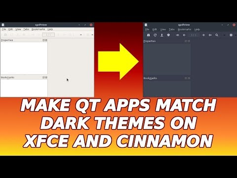 How to Make Qt Apps Match Dark Themes on Xfce and Cinnamon