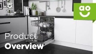 Samsung Dishwasher DW60M6040BB Product overview | ao.com