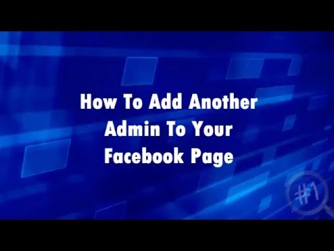 How To Add Another Admin To Your Facebook Business Page - Ben Laing