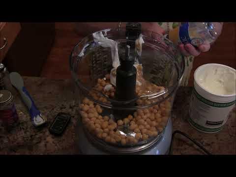 Recipe: Hummus & Pita Chips | Low Fat and WW Freestyle