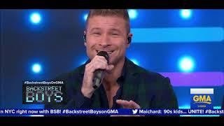 Backstreet Boys Live Good Morning America 2019 (