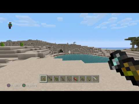 Minecraft ps3 - working GUNS MOD PACK!!!!!!!+modded skins/texture packs!!! Download out soon