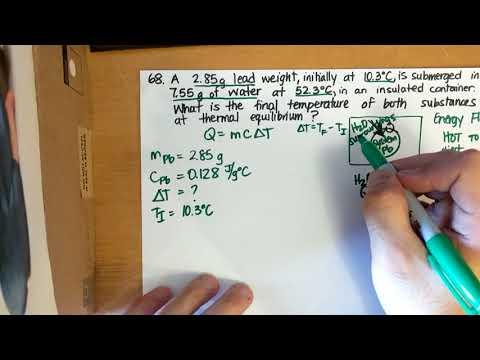 Calculating final temperature through heat exchange in thermal equilibrium