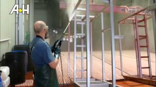 Bejdsning af rustfrit stål