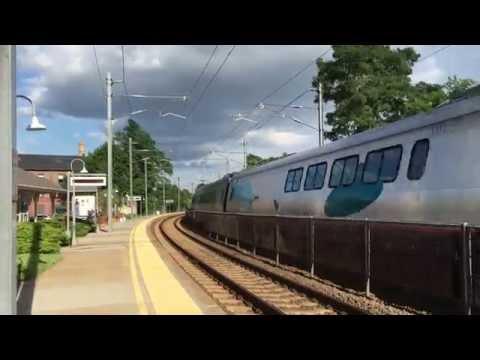 Acela Express 2164 - Mystic, CT (08.02.16)