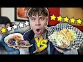Worst Reviewed Taco 1 STAR VS Best Reviewed Taco 5 STAR