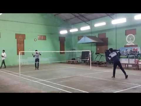 Yn college indoor badminton court