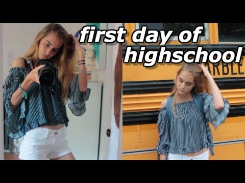 GET READY WITH ME: FIRST DAY OF HIGH SCHOOL (Freshman)
