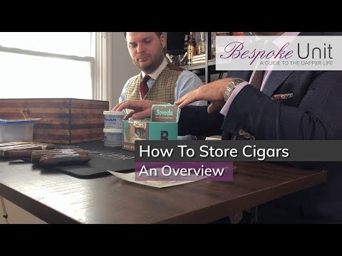How To Correctly Store Your Cigars: Containers, Humidity Devices & Sensors For Beginners