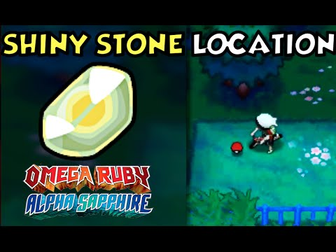 Where/How to obtain a Shiny Stone (2 Ways) in Pokemon Omega Ruby and Alpha Sapphire