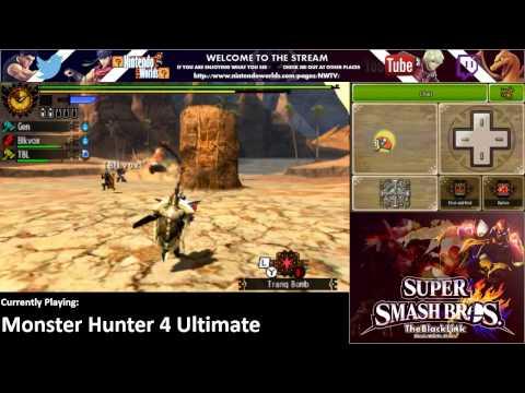 Rising through the G-Ranks! | Monster Hunter 4 Ultimate 3DS Livestream | (720p)[HD]
