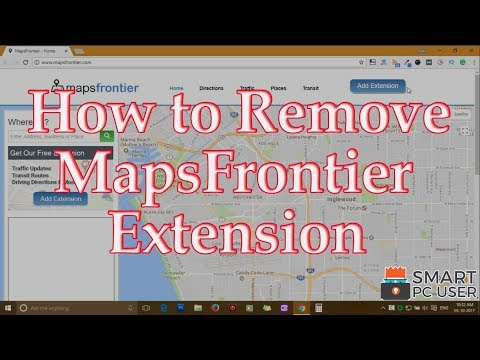 How to Remove MapsFrontier Extension from All Browsers (Chrome, Firefox, Edge, IE)