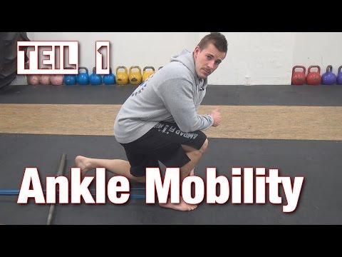 Sprunggelenk (Ankle) Mobility | Tipps & Drills für bessere Squats & Pistols 1/2