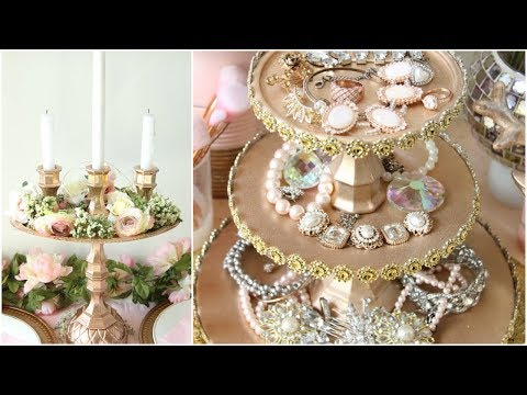 DOLLAR TREE GLAM ROOM DECOR DIY