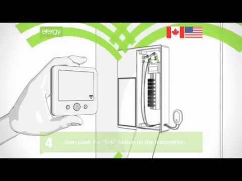 Installation: Efergy electricity monitor installation (US/CAN)