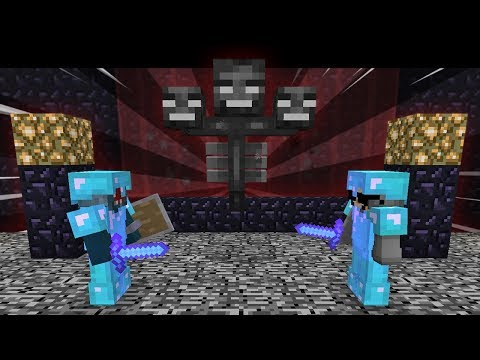 Minecraft | FRIEND OR FOE? | SPAWNING THE WITHER!! (50)
