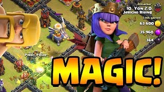 MAGICAL QUEEN in Jericho Rising!   Clash of Clans