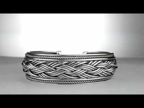 Making of a Woven Cuff