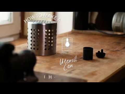 How To: Utensil Can Light