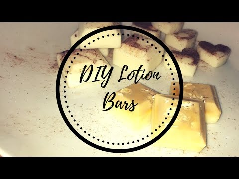 DIY: How To Make Lotion Bars