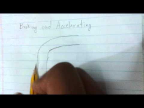 Gokarting tips-braking and accelerating