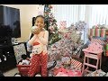 Christmas Morning Opening Presents 2017!!!!