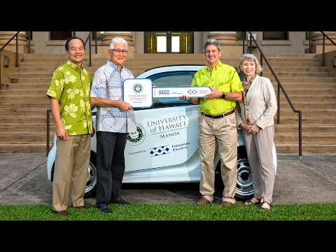 HEI Acts of Aloha helps UH reduce carbon footprint