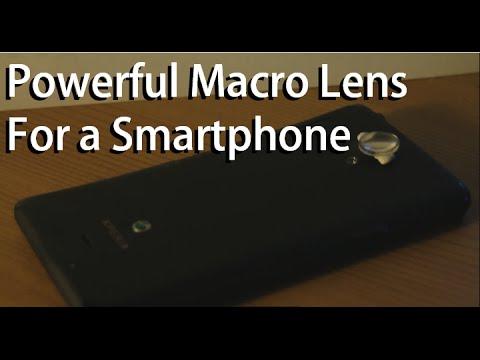 DIY : Powerful Smartphone Macro Lens (Using telescope eyepiece lens)