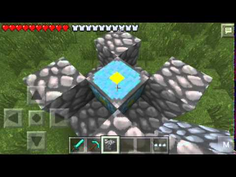 How to Build a Nether Portal in MCPE (+Tips, ZombiePigmen and more!)