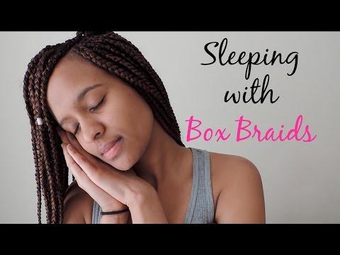 How to Sleep with Box Braids