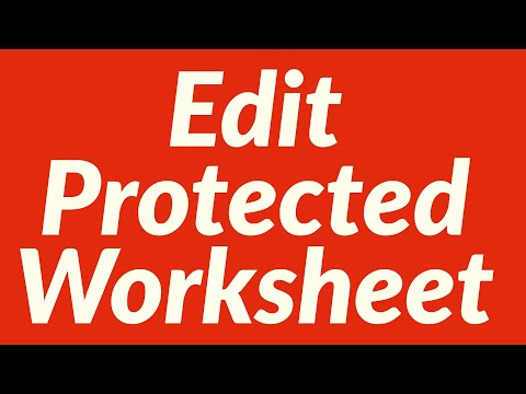 Allow Editing in Protected Worksheet with VBA